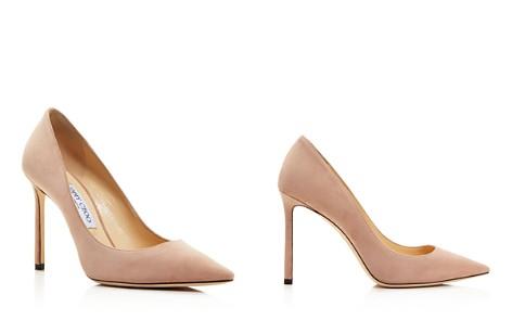 Jimmy Choo Women's Romy 100 Suede High-Heel Pointed Toe Pumps - Bloomingdale's_2