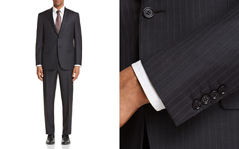 Canali Banker Stripe Classic Fit Suit - Bloomingdale's_2