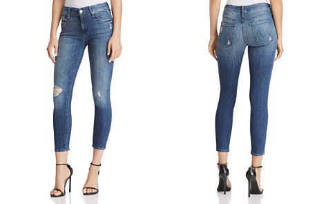 MOTHER The Looker Crop Jeans in Gypsy - Bloomingdale's_2