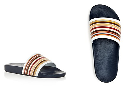 Paul Smith Men's Ruben Signature Stripe Slide Sandals - Bloomingdale's_2