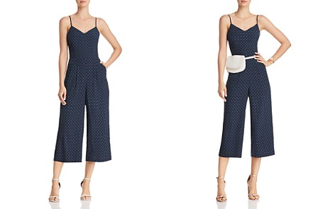 JOA Polka Dot Wide-Leg Jumpsuit - Bloomingdale's_2