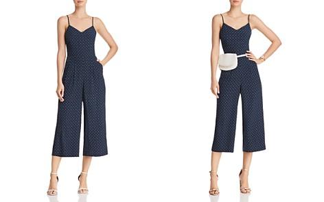 JOA Polka Dot Wide-Leg Jumpsuit - Bloomingdale's_2