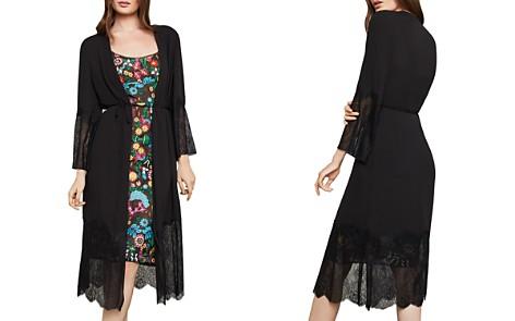 BCBGMAXAZRIA Lace-Trim Kimono - Bloomingdale's_2
