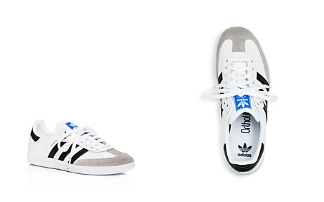 Adidas Unisex Samba Leather & Suede Lace Up Sneakers - Big Kid - Bloomingdale's_2