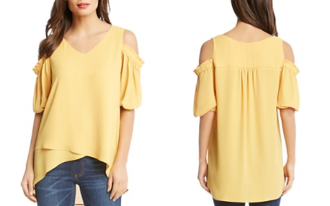 Karen Kane Cold-Shoulder High/Low Top - Bloomingdale's_2