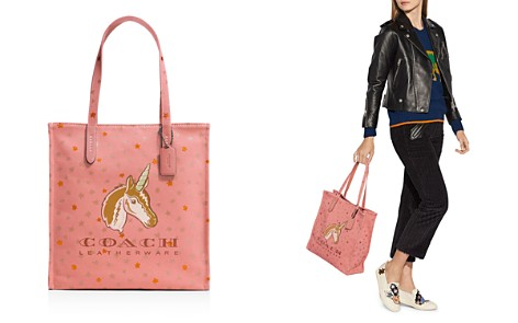 COACH Uni Canvas Tote - Bloomingdale's_2