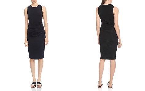 HALSTON HERITAGE Ruched Sheath Dress - Bloomingdale's_2
