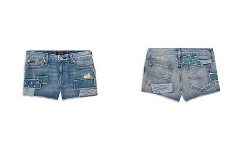Polo Ralph Lauren Girls' Patchwork Denim Shorts - Big Kid - Bloomingdale's_2