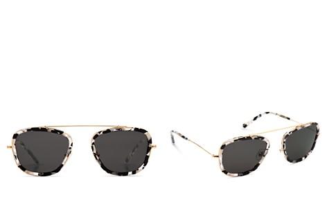 Krewe 24K Huey Interstellar Round Sunglasses, 53mm - Bloomingdale's_2