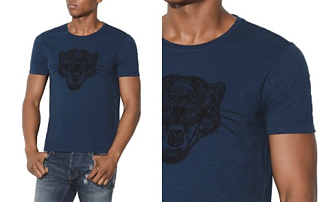 John Varvatos Star USA Tiger Applique Graphic Tee - Bloomingdale's_2