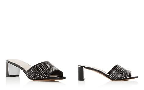 Kenneth Cole Women's Nash Studded Leather Mid-Heel Slide Sandals - Bloomingdale's_2
