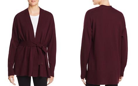 AQUA Cashmere Tie-Waist Cashmere Robe Cardigan - 100% Exclusive - Bloomingdale's_2