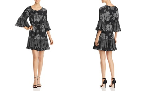Kobi Halperin Nastasia Pattern Block Silk Dress - Bloomingdale's_2