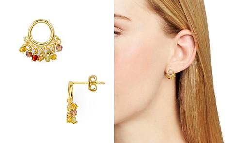 AQUA Sterling Circle Rainbow Fringe Earring - 100% Exclusive - Bloomingdale's_2
