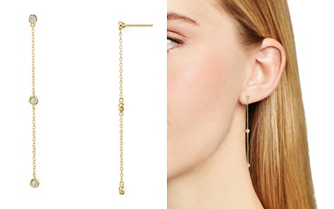 AQUA Linear Chain Drop Earrings - 100% Exclusive - Bloomingdale's_2