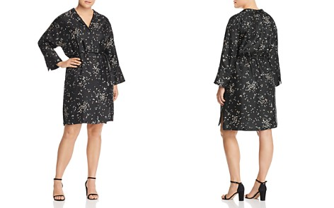 Lafayette 148 New York Plus Calleigh Silk Shirt Dress - Bloomingdale's_2