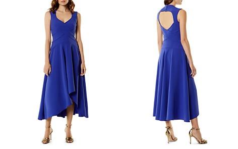 KAREN MILLEN High/Low Cutout Midi Dress - Bloomingdale's_2