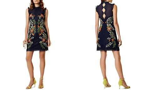 KAREN MILLEN Embroidered A-Line Dress - Bloomingdale's_2
