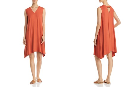 Eileen Fisher V-Neck Swing Dress - Bloomingdale's_2