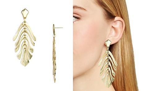 Kendra Scott Luca Abstract Leaf Drop Earrings - Bloomingdale's_2