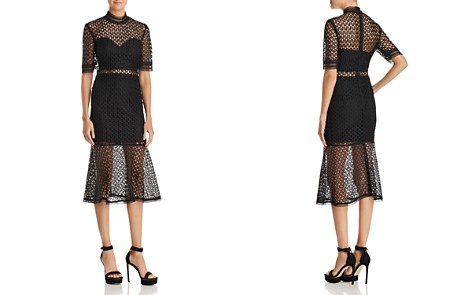 Bardot Fiona Mesh Midi Dress - Bloomingdale's_2