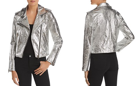 BLANKNYC Metallic Faux Leather Moto Jacket - Bloomingdale's_2