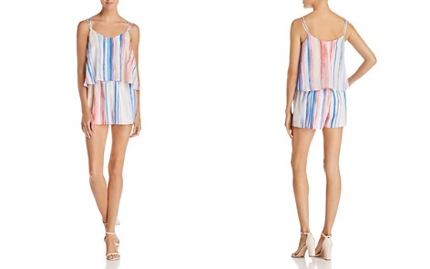 Jack by BB DAKOTA Gabriella Popover Striped Romper - Bloomingdale's_2