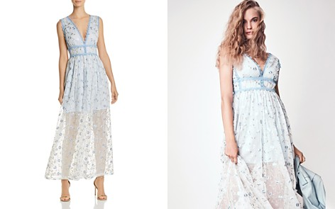 AQUA Lace-Trim Embroidered Maxi Dress - 100% Exclusive - Bloomingdale's_2