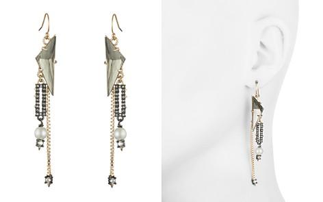 Alexis Bittar Simulated Pearl & Crystal Chain Drop Earrings - Bloomingdale's_2