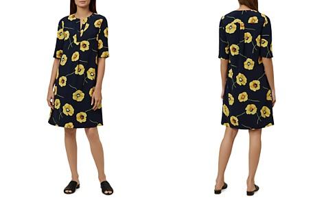 HOBBS LONDON Faye Floral Print Shift Dress - Bloomingdale's_2