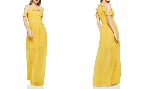 BCBGeneration Cold Shoulder Maxi Dress - Bloomingdale's_2