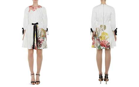 Ted Baker Tuleela Tranquility Bow-Trim Dress - Bloomingdale's_2
