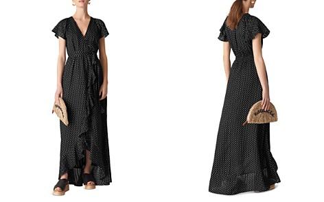 Whistles Dot-Print Wrap Maxi Dress - Bloomingdale's_2