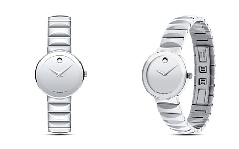 Movado Sapphire Watch, 28mm - Bloomingdale's_2