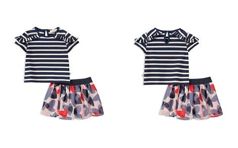 kate spade new york Girls' Striped Ruffle Top & Confetti Hearts Skirt Set - Little Kid - Bloomingdale's_2