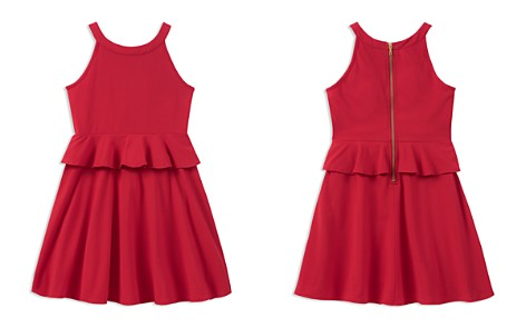 kate spade new york Girls' Ponte Peplum Dress - Big Kid - Bloomingdale's_2
