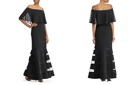 Lauren Ralph Lauren Off-the-Shoulder Gown - Bloomingdale's_2