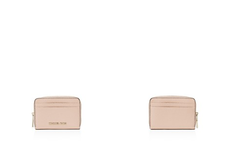 MICHAEL Michael Kors Zip Around Leather Card Case - Bloomingdale's_2