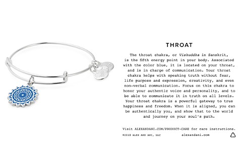 Alex and Ani Throat Chakra Expandable Charm Bracelet - Bloomingdale's_2