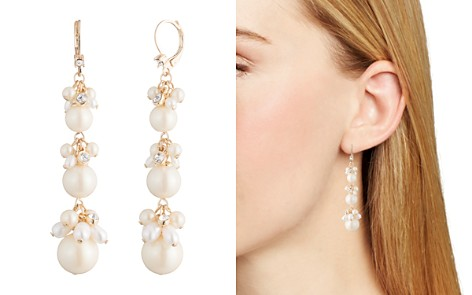 Carolee Cultured Freshwater Pearl Linear Drop Earrings - Bloomingdale's_2