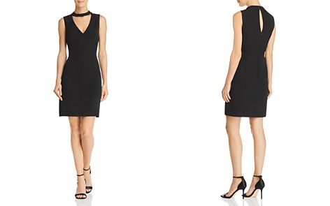 Laundry by Shelli Segal Choker-Neck Sheath Dress - 100% Exclusive - Bloomingdale's_2