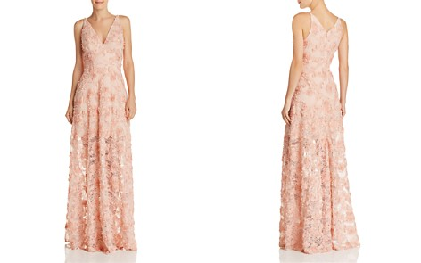 Avery G Floral Appliqué Gown - 100% Exclusive - Bloomingdale's_2