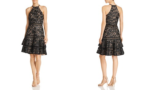 Avery G Sleeveless Lace Dress - Bloomingdale's_2