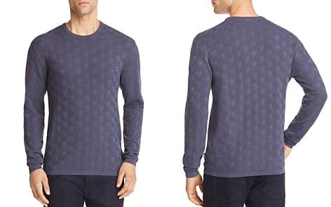 Emporio Armani Chevron Tonal Textured Pullover - Bloomingdale's_2