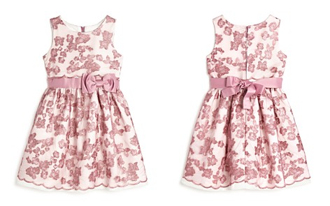 US Angels Girls' Floral-Embroidered Dress - Little Kid - Bloomingdale's_2