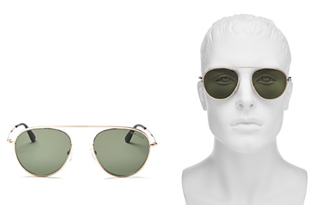 Tom Ford Keith Aviator Sunglasses, 60mm - Bloomingdale's_2