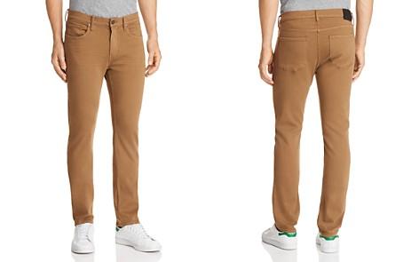PAIGE Federal Slim Fit Jeans in Laurel Tan - Bloomingdale's_2