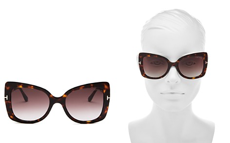 Tom Ford Women's Gianna Square Sunglasses, 54mm - Bloomingdale's_2