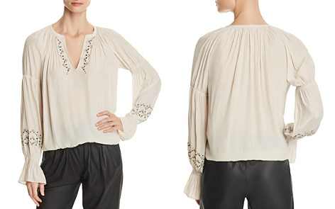 Ramy Brook Antonia Embellished Peasant Top - Bloomingdale's_2