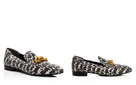 Tory Burch Women's Jessa Snakeskin Loafers - Bloomingdale's_2